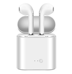 xiaomi headset box UK - i7s TWS Mini Bluetooth Wireless Earphones Earbuds With Charging Box Sports Headsets For iPhone Android For Samsung Xiaomi Huawei