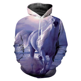 Drop Shipping New Product Australia - New Product Horse 3D Print Hoodies Clothing Sweatshirt Men Pullover Novelty Streetwear Hooded Long Sleeve Hiphop Drop Shipping
