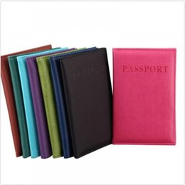 Travel Business Case Australia - Cute Passport Cover Women Russia Pink Passport Holder Travel Covers for Passports Girls Case for PU leather