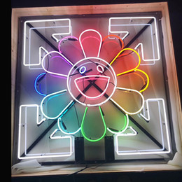 Wholesale Guangzhou Factory Custom The Sun Smile Face Neon Signs Beer Bar Pub Party Store Home room Wall Decor 50*50cm