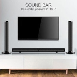50W Detachable Wireless bluetooth Soundbar Bass Speaker 3D Surround HIFI Sound bar Stereo Bass Subwoofer Home Theatre for TV PC on Sale