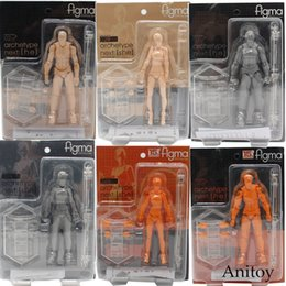 figma figures Canada - Figma Kun   Body Chan Grey Orange Yellow Pvc Action Figure Model Toys 14cm Kt3739 C19041501