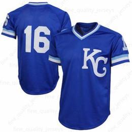70d5b96e925 35 Eric Hosmer 13 Salvador Perez Kansas City 16 Bo Jackson Royals 4 Alex  Gordon 5 George Brett Baseball Jerseys 100% Stitched