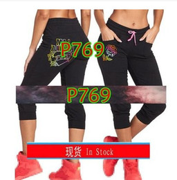 $enCountryForm.capitalKeyWord NZ - FIT FUNKY Womens Knitted cotton trousers sports running slimming leggings clothes cargo pants legging capri pants P769
