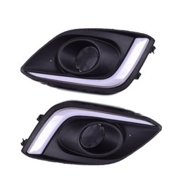 $enCountryForm.capitalKeyWord Australia - QINYI 1Pair Car LED DRL Driving Daytime Running Lights White For Suzuki Swift 2014 2015 2016 car styling fog lamp cover