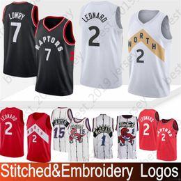 Men Youth Toronto 2 Kawhi Raptors Leonard Jersey 7 Kyle 1 Tracy Lowry  McGrady Carter 15 Vince Top Quality Jerseys fa5d731fd
