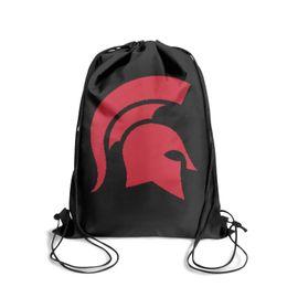 $enCountryForm.capitalKeyWord UK - Drawstring Sports Backpack Spartan Helmet Clipart Popular Adjustable Yoga Travel Fabric Backpack