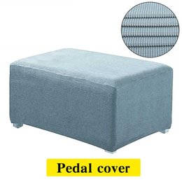 Discount foot rest covers - Stretch Sofa Cover Chair Footstool Foot-rest Pedales Stool Bench Cushion Covers Elastic Furniture Protector Removable Sl