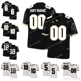d85acce6a NCAA UCF Knights 18 Shaquem Griffin 5 Blake Bortles 6 Brandon Marshall 10  McKenzie Milton College Football Jersey