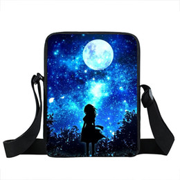 School meSSenger bagS for women online shopping - Galaxy Nightfall Tree Shoulder Bag Women Handbags Universe Star Children Messenger Bags For Boys Men School Bags Kids Bag
