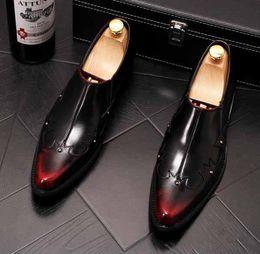 $enCountryForm.capitalKeyWord Australia - 2019 New arrival mens shoes mens loafers Bullock Sculpture pattern stylist mens designer shoes men luxury loafers