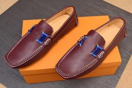 $enCountryForm.capitalKeyWord Australia - [Orignal Box] 2019 GLORIA Spectrum Mens Loafers Gommino Slip-On Gentleman Brand Wedding Drive Dress Classics Shoes Size 38-46