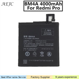 xiaomi hongmi battery UK - 4000mAh BM4A Battery For Xiaomi Redmi Pro Battery Mobile Phone Batteries for Xiaomi Hongmi Pro Batterie Bateria