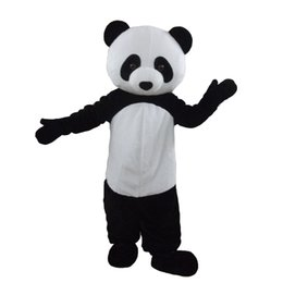 adult cartoon outfits NZ - Animal Panda Costume Outfits Adult Size Cartoon Mascot costume For Carnival Festival Commercial Dress
