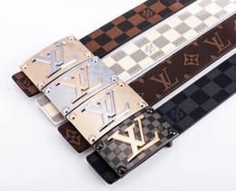 $enCountryForm.capitalKeyWord Australia - 2019 New Designer Belts Mens High Quality Brand Leather Straps Smooth cover Business Trouser Men's belt