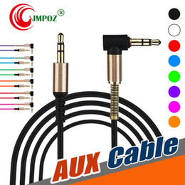 $enCountryForm.capitalKeyWord Australia - AUX Audio Cable For Studio Headphone 3FT 1M 3.5MM L-Shaped 90 Degree Right Angle USB Male to Male Normal For Headsets