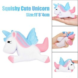Lovely Gadget Australia - Squishy Kawaii Lovely 11cm Unicorn Cream Squishy Charm Slow Rising Slow Rising Toy Office Gadgets Interesting Toys Gifts anti-stress XB