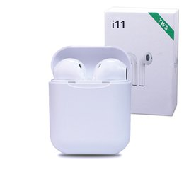 Venta al por mayor de I11 tws bluetooth 5.0 auriculares inalámbricos bluetooth auriculares estéreo auriculares auriculares inalámbricos auriculares con paquete al por menor