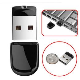 Original Flash Drive Australia - High quality Hot USB 2.0 pendrive black super mini USB Flash Drive 64GB 32G 16GB 8GB Pen Drives flash U disk 100% Original Memoria Stick