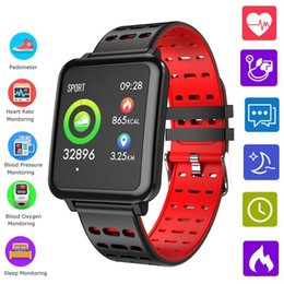 $enCountryForm.capitalKeyWord Australia - New T2 Smart Wristband Sports Fitness Tracker Watch Men Women With Heart Rate Health Monitoring Smart Bracelet For IOS Android