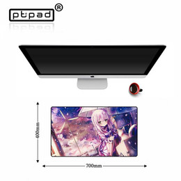 Large game mouse pad online shopping - Sexy Anime Large Anti slip Natural Rubber Gaming Computer Mouse Pad Desk Mat Gamer Game Tablet PC Keyboard Locking Edge Mousepad