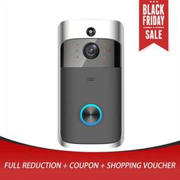 $enCountryForm.capitalKeyWord Australia - M3 Wireless Video Doorbell Camera Ring Door Bell Two Way Audio APP Control WIFI Remote Home Security HD Visible Monitor