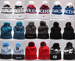 summer beanie hats 2019 - Hot!Winter Beanie Hats Knitted Wool Caps casual Beanies wholesale Skull Hats Men Women Winter sport Caps cheap summer be