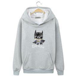 a69a56f0b Camisola de morcego vermelho on-line-2019 Nova marca Hoodie Streetwear Hip  Hop vermelho