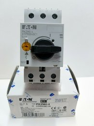 wholesale circuit breakers Australia - 1 PC Original Moeller Circuit Breaker PKZM0-4 XTPR004BC1NL QTY 2 Per Lot New In Box Free Expedited Shipping