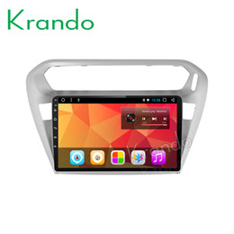 "Android Mobile Big NZ - Krando Android 8.1 10.1"" Big Screen Full touch car Multimedia player for PEUGEOT 301   Citroen Elysee navigation system gps BT car dvd"