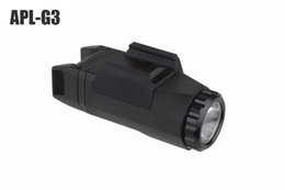 Wholesale Trijicon APL G3 Lumens Tactical Weapon Light Constant Momentary Strobe Flashlight LED White Light For Hunting