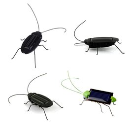 $enCountryForm.capitalKeyWord Australia - Kid Solar Energy Powered Cockroach Grasshopper Educational Gadget Toy New Solar Power Grasshopper