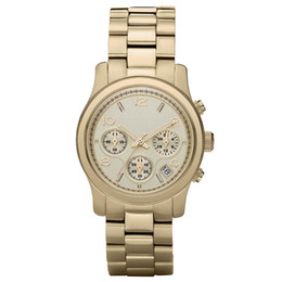 Watches personality online shopping - Dreama New style fashionable personality women s stainless steel quartz watch MK5055 MK5076 MK5128 watch M003