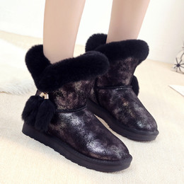 female slip silk Australia - 2018 Casual Shoes Women Fashion Brand Warm Snow Boots Genuine Leather Lady chaussure Winter Female footware with Fur