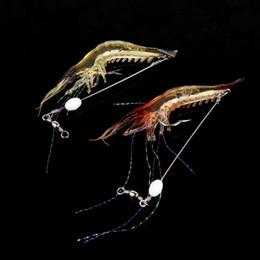 $enCountryForm.capitalKeyWord Australia - fish 2 PCS 18 cm 6g Bionic shrimp soaking bait fishing tackle with hook Luminous Night Glow fishing bait