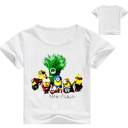 $enCountryForm.capitalKeyWord Australia - People Small Yellow In Child Children's Wear Xia Style Children Cartoon Short Sleeve Boy Shirt T062 T Shirts
