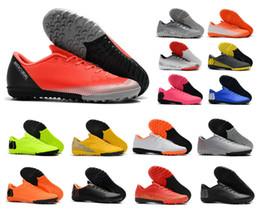cr7 soccer shoes 2019 - Hot Mercurial VaporX XII Academy TF 12 Mens Indoor Turf CR7 Cristiano Ronaldo Neymar Soccer Football Shoes Cleats Boots