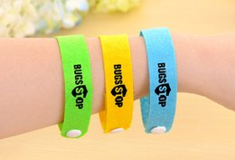 $enCountryForm.capitalKeyWord NZ - Fashion Hot Mosquito Repellent Band Bracelets Anti Mosquito Pure Natural Baby Wristband Hand Ring Free Shipping