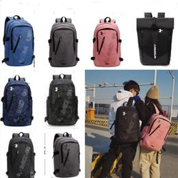 $enCountryForm.capitalKeyWord Australia - Fashion Brand Backpack Women Men Laptop Shoulder Bags Oxford U&A Letter Print Backpacks Large Capacity Travel School Bag Rucksack B71203