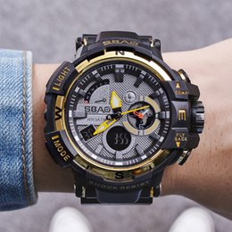 $enCountryForm.capitalKeyWord NZ - New Men Fashion Sport Watch 30m Waterproof Wristwatch Japan Movement Quartz Alarm Clock Watch Male Multifunctional Wrist Watches