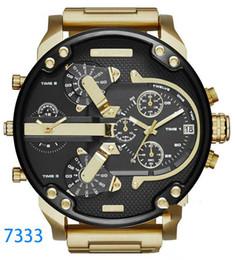 الساعات الفاخرة العلامة التجارية الرياضة العسكرية montres رجل جديد الأصلي reloj الطلب الكبير عرض الديزل الساعات dz ووتش dz7331 DZ7312 DZ7315 DZ7333