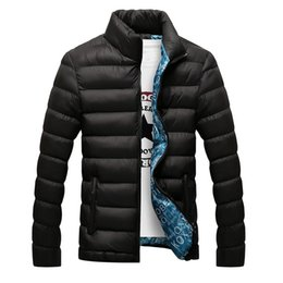 quilted parka men Australia - 2020 New Winter Jackets Parka Men Autumn Winter Warm Outwear Brand Slim Mens Coats Casual Windbreaker Quilted Jackets Men M-6XL T200318