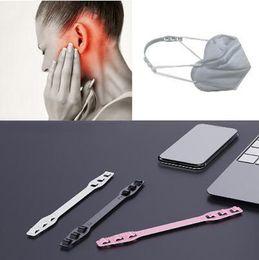 Бесплатная доставка маска ремешок Extender Anti-затягивая маска держатель Hook ремень уха Захваты Удлинитель маска Пряжка Боль в ушах на Распродаже