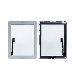 Ipad sensors online shopping - For iPad iPad iPad Touch Screen Digitizer Sensor Glass Panel with Home Button