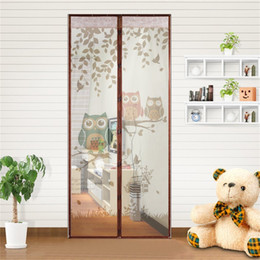 $enCountryForm.capitalKeyWord Australia - Summer Magnet Mosquito Net Magnetic Anti Mosquito Curtains Door Curtains Prevent Kitchen Portiere Screen Curtain
