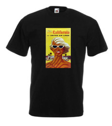 $enCountryForm.capitalKeyWord UK - VINTAGE TRAVEL California T-shirt - Retro Prints - Home-Holiday - free delivery Short Sleeve Plus Size t-shirt colour jersey Print t shirt