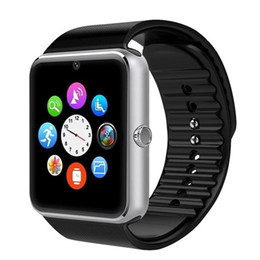$enCountryForm.capitalKeyWord Australia - GT08 smart watch with SIM card slot for Android and IOS mobile smart sports Bluetooth watch