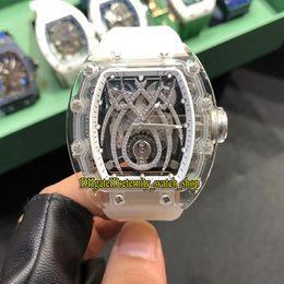 $enCountryForm.capitalKeyWord Australia - Best version RM19-01 Acrylic Case Skeleton Spider Diamond Dial Japan Miyota Automatic RM 19-01 Mens Watch Rubber Strap Unisex Sport Watches