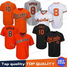 7b5c1912e Stitched 8 Cal Ripken Jr. Baltimore Oriol Jersey 13 Manny Machado 12  Roberto Alomar 10 Adam Jones Baseball Jerseys Top quality