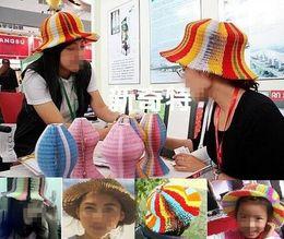 $enCountryForm.capitalKeyWord Australia - 200PCS Magic Vase Paper Hats Handmade Folding Hat for Party Decorations Funny Paper Caps Travel Sun Hats Colorful